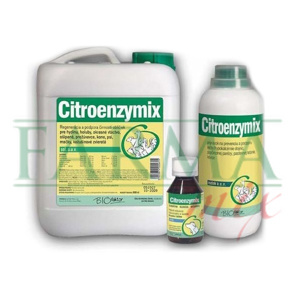 Citroenzymix sol. 1000 ml.