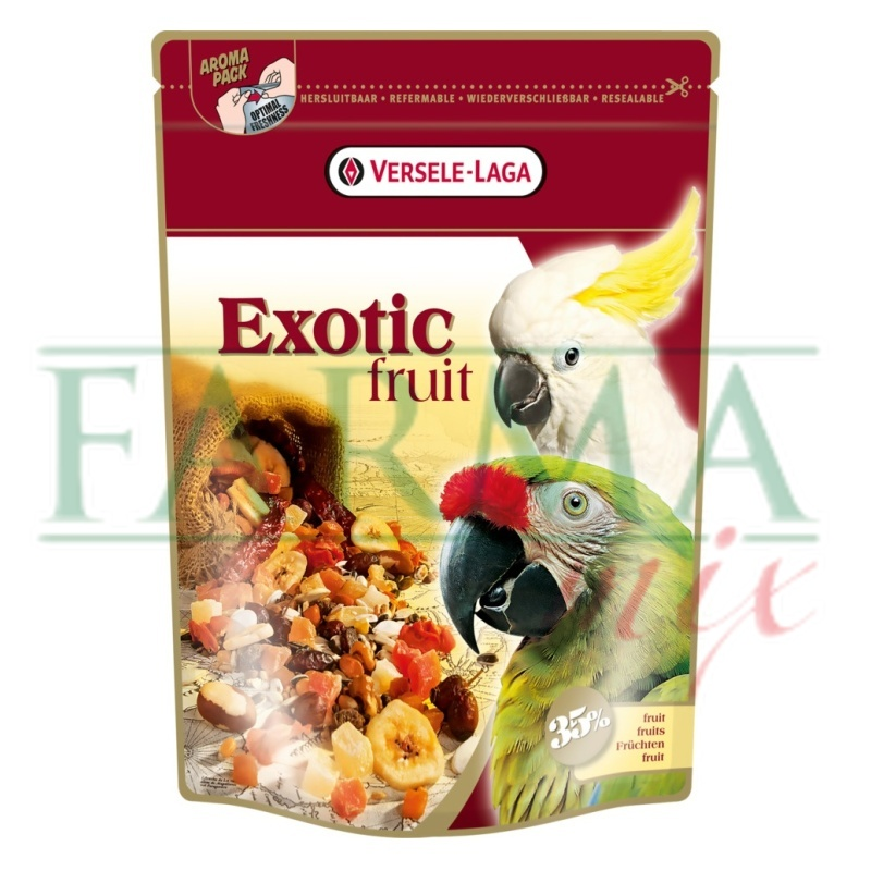 Versele Laga Prestige premium parrots EXOTIC FRUIT MIX 600G